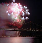 Bay Bridge Fireworks No. 1