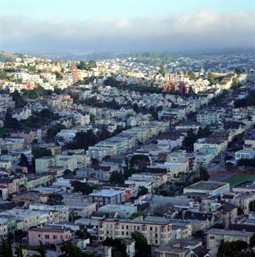 The Fog Rolls In - Noe Valley