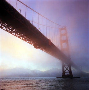 The Fog Rolls In - Golden Gate Bridge