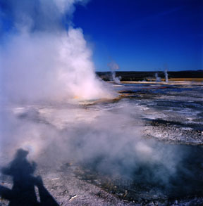 Spasm Geyser, Clepsydra Geyser, and Brocken Specter