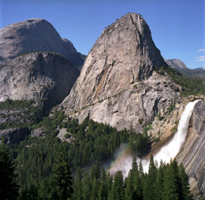 Nevada Falls and Rainbow