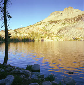 May Lake and Mount Hoffmann