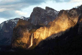 Spotlight on Bridalveil Falls