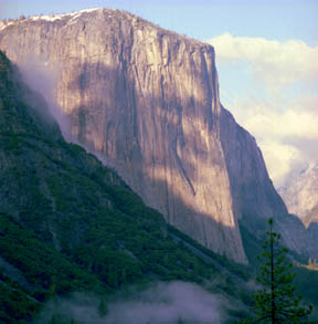 El Capitan Cloud Shadow